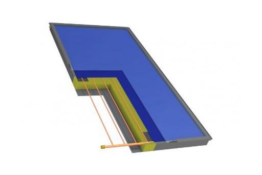 Kolektor słoneczny płaski HEWALEX KS 2400 TLP AC