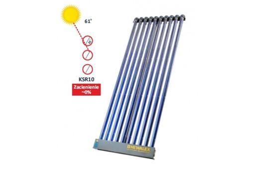 Kolektor słoneczny rurowy próżniowy HEWALEX KSR 10