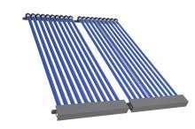 Kolektor słoneczny rurowy próżniowy HEWALEX 2KSR 10 Kolektory słoneczne pojedyncze