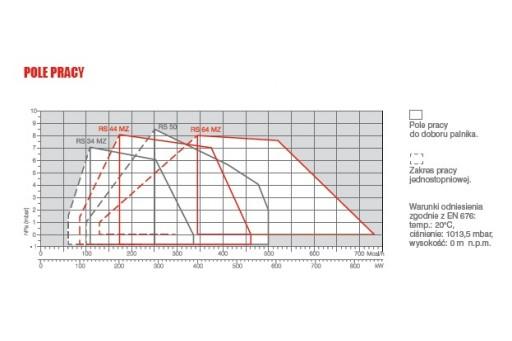 """Palnik gazowy progresywny ze ścieżką 3/4"""" Riello RS50 TC 581kW"""