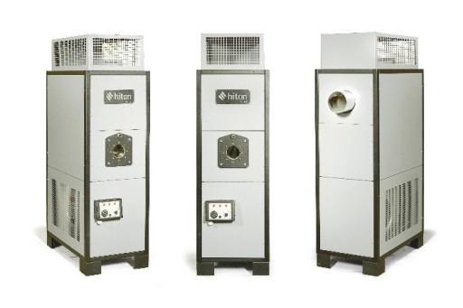Nagrzewnica stacjonarna PROTON HP 30 z palnikiem gazowym BS 1 - 30 kW