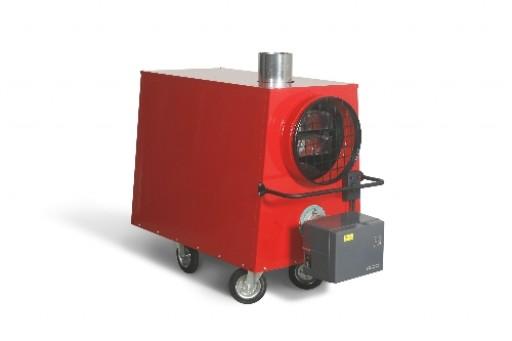 Nagrzewnica mobilna PROTON/HITON T 40 z palnikiem Riello RG 1R 36 kW
