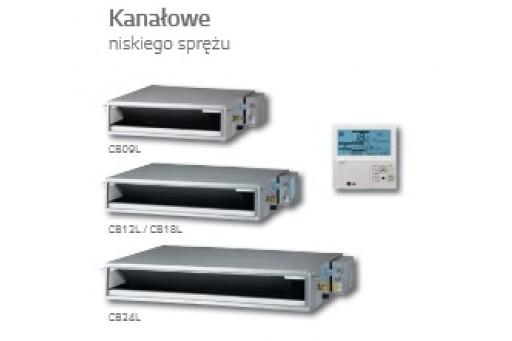 Klimatyzator LG Multi Inverter jed. wew. kanałowa CB09L - 2,6/2,9 kW