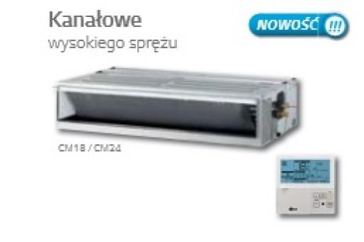Klimatyzator LG Multi Inverter jed. wew. kanałowa CM18 - 5,3/5,8 kW