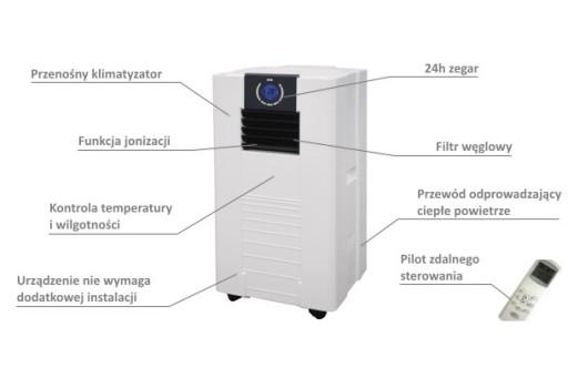 Klimatyzator przenośny Master AC 1400 E - 4,1 kW
