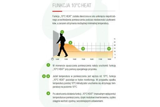Klimatyzator ścienny Fujitsu Inverter ASYG12LTCA - 3,5/4,0 kW