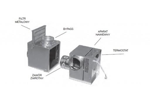 Zestaw nawiewny BANAN3 do systemu DGP Darco - 800 m3/h