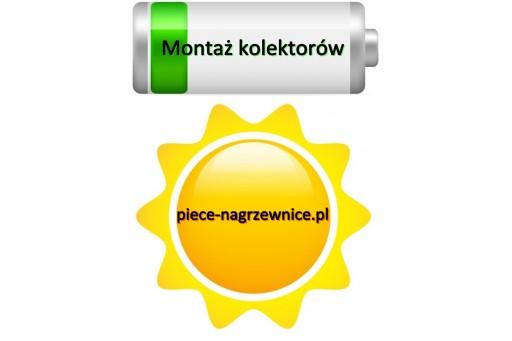 Montaż kolektorów słonecznych (solarów) Hewalex Kraków #1