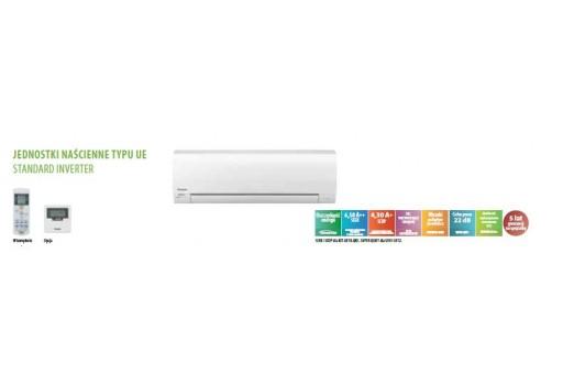 Klimatyzator ścienny Panasonic  INVERTER KIT-UE9-RKE (biały) - 2,50/3,30 kW