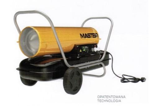 Nagrzewnica olejowa bez odprowadzania spalin Master B 100 CEG - 29 kW