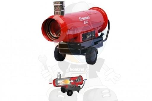 Wynajem nagrzewnicy olejowej - 80 kW