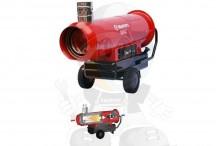 Wynajem nagrzewnicy olejowej - 80 kW  Wynajem nagrzewnic olejowych