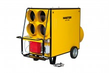 Wynajem nagrzewnicy olejowej - 130 kW Wynajem nagrzewnic olejowych