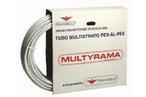 Rura Prandelli Multyrama PEX/AL/PEX - 16 x 2,0 mm, 100 mb