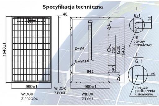 Zestaw fotowoltaiczny Hymon - 5kW ON GRID