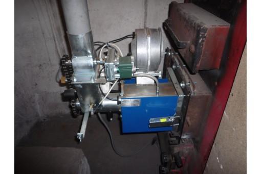 Palnik na owies Bioterm 40, pracujący w zakresie mocy do 50 kW