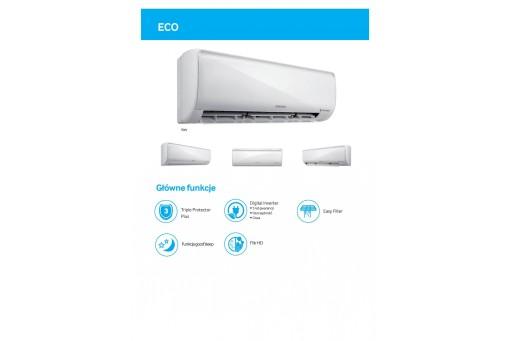 Klimatyzator ścienny SAMSUNG Eco AR09KSFPEWQNZE - 2,5/3,3 kW