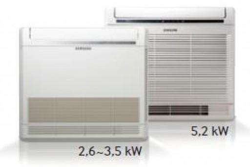 Klimatyzator przypodłogowy (konsola) SAMSUNG AC026FBJDEH/EU - 2,6/3,5 kW