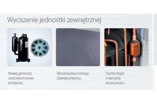 Klimatyzator ścienny AUX Galaxy ERP ASW-H12C4 - 3,5/4,5 kW