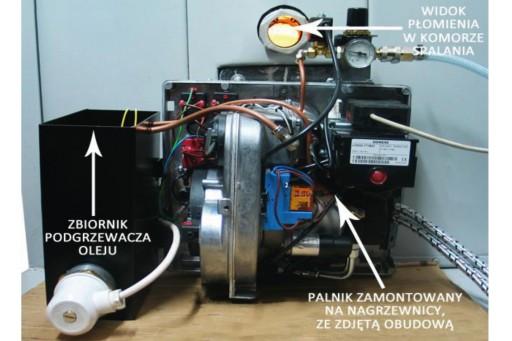 Palnik multiolejowy INOP 65 - 65 kW