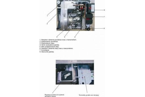 Palnik multiolejowy INOP 185 - 185 kW