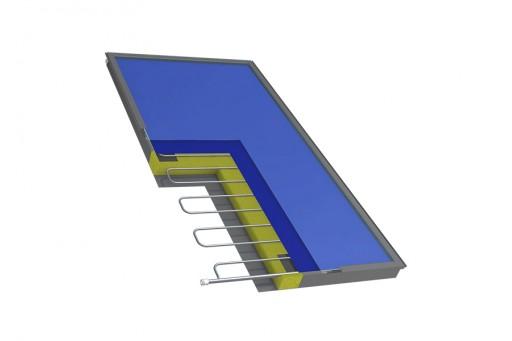 Kolektor słoneczny płaski HEWALEX KS 2000 TP Am