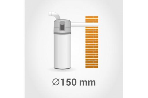 HEWALEX PCWU 200eK 1,8kW Pompa ciepła z podgrzewaczem