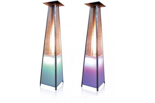 Zestaw 2 Promienników ogrodowych  LED Ognista Wieża - 11 kW