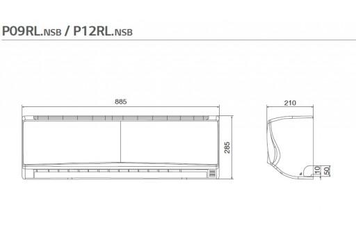 Montaż klimatyzatora ściennego LG Standard Inverter P09EN - 2,5/3,2 kW dla osoby fizycznej