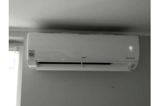 Montaż klimatyzatora ściennego LG Deluxe DC12RQ - 3,5/4,0 kW - dla osoby fizycznej