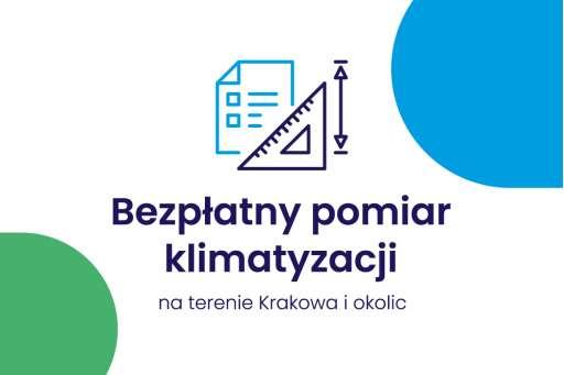 Bezpłatny pomiar klimatyzacji na terenie Krakowa i okolic