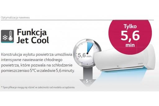 Montaż klimatyzatora ściennego LG Standard Plus Inverter PC12SQ - 3,5/3,8 kW dla osoby fizycznej