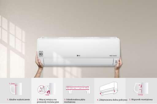 Klimatyzator ścienny LG Deluxe - 2,5kW DC09RQ.NSJ