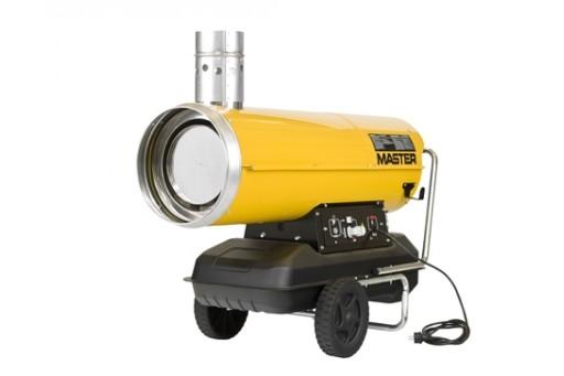 Nagrzewnica olejowa z odprowadzeniem spalin Master BV 500-13C  - 117/150 kW