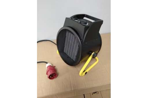 Używana nagrzewnica elektryczna nadmuchowa Warmtec EWP-5 - 5 kW