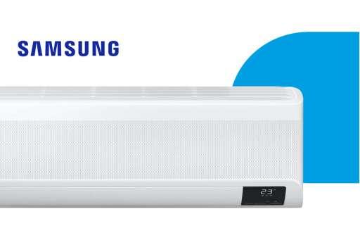 Montaż klimatyzatora ściennego Samsung WindFree ELITE AR12TXCA - 3,5/4,0 kW - dla osoby fizycznej
