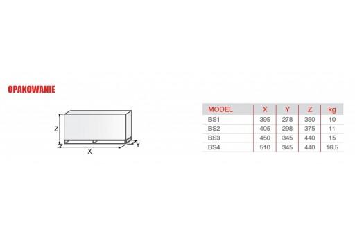 """Palnik gazowy jednostopniowy ze ścieżką 1 1/4"""" Riello BS4 - 250 kW"""