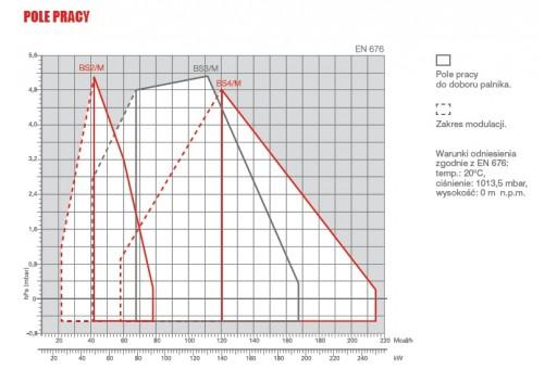 """Palnik gazowy modulowany ze ścieżką 3/4"""" Riello BS 2/M - 91 kW"""