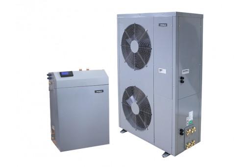 Pompa ciepła powietrzna do c.w.u. i c.o. HEWALEX PCCO SPLIT 20kW