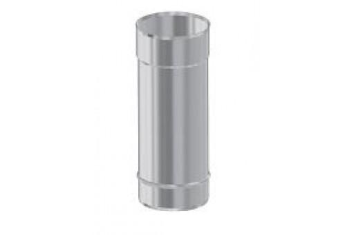 Rura prosta 0,25 mb fi 130 mm nierdzewna do odprowadzania spalin