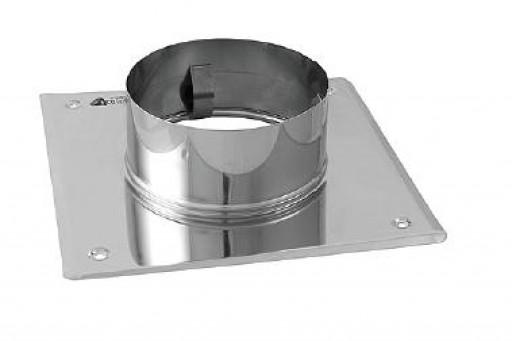 Płyta dachowa nierdzewna fi 150 mm do odprowadzania spalin