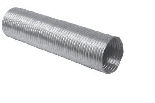 Rura elastyczna chromoniklowa 1mb fi 140 mm kominowa