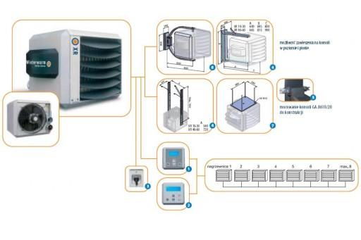 Nagrzewnica gazowa Winterwarm  XR 60 - 66 kW