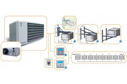 Nagrzewnica gazowa Winterwarm TR 24 - 26 kW