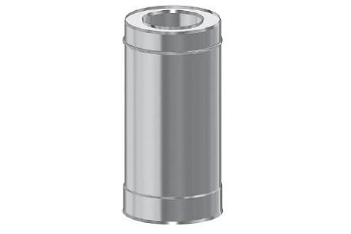Rura prosta kominowa dwuścienna ocieplana 0,50 mb fi 200/300 mm